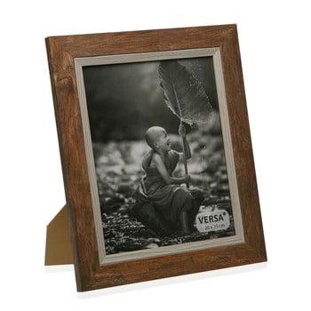 Ramă foto din lemn pentru fotografie Versa Madera Marron, 27,5x32,5cm poza bonami.ro