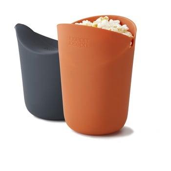 Set 2 recipiente pentru popcorn pentru cuptorul cu microunde Joseph Joseph M-Cuisine poza bonami.ro