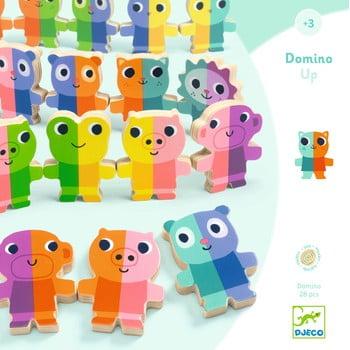 Domino 3D din lemn Djeco poza bonami.ro