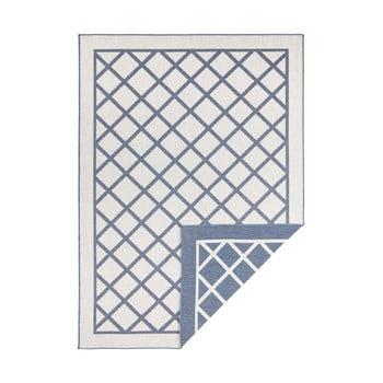 Covor adecvat pentru exterior Bougari Supreme, 230 x 160 cm, albastru-crem imagine