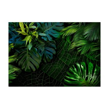 Tapet format mare Bimago Dark Jungle, 400 x 280 cm poza bonami.ro