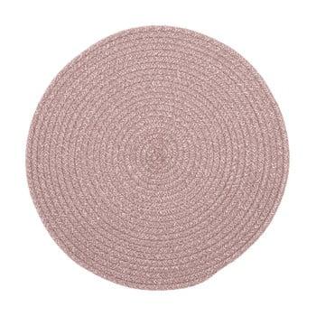 Suport pentru farfurie din amestec de bumbac Tiseco Home Studio,ø38cm, roz bonami.ro