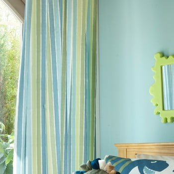 Set 2 draperii pentru camera copiilor Catherine Lansfield Dino, 168 x 183 cm poza bonami.ro