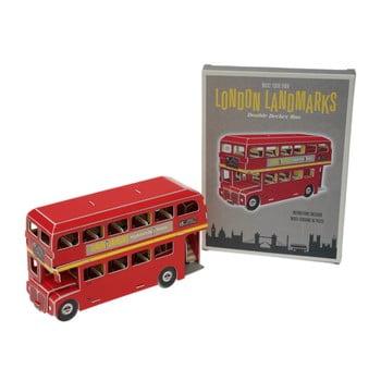 Puzzle cu autobuz londonez din carton Rex London Routemaster bonami.ro