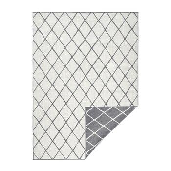 Covor adecvat pentru exterior Bougari Malaga, 200 x 290 cm, gri - crem