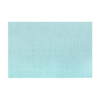 Suport pentru farfurie Tiseco Home Studio Chevron, 45 x 30 cm, albastru bonami.ro