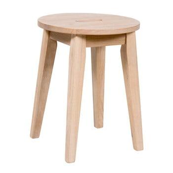 Scaun jos, mat din lemn de stejar Rowico Frigg bonami.ro