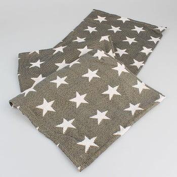 Șervet masă cu steluțe Dakls, maro bonami.ro