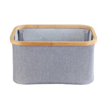 Coș pentru rufe pliabil Wenko Baharui Bamboo bonami.ro