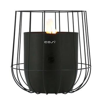 Lampă cu gaz Cosi Basket, înălțime 31 cm, negru bonami.ro