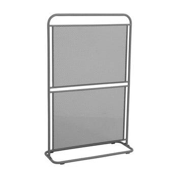 Paravan metalic pentru balcon ADDU MWH, 124 x 80 cm, gri închis poza bonami.ro