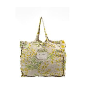 Geantă textilă Linen Couture Mimosa, lățime 50 cm poza bonami.ro