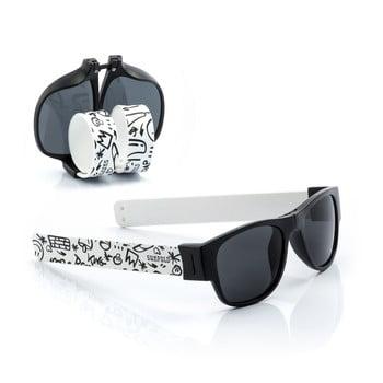 Ochelari de soare pliabili InnovaGoods Sunfold ST2, negru - alb poza bonami.ro