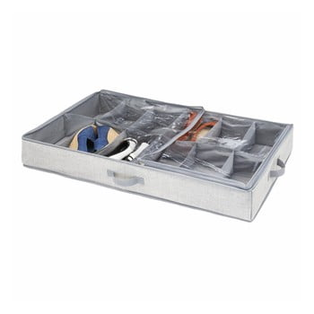 Cutie pentru depozitare sub pat, pentru pantofi, iDesign Aldo poza bonami.ro