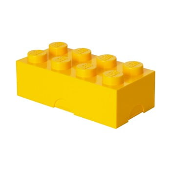 Cutie pentru prânz LEGO®, galben poza bonami.ro
