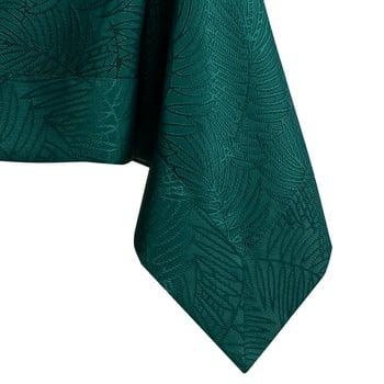 Față de masă AmeliaHome Gaia Bottle Green, 140 x 220 cm, verde închis bonami.ro