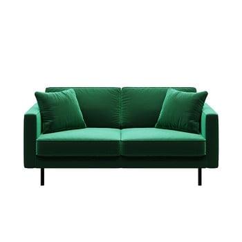 Canapea cu 2 locuri MESONICA Kobo, verde imagine
