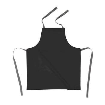 Șorț de bucătărie din bumbac Tiseco Home Studio, negru bonami.ro