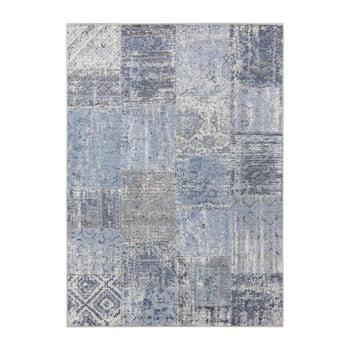 Covor Elle Decor Pleasure Denain, 160 x 230 cm, albastru imagine