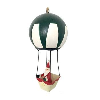 Decorațiune suspendată pentru Crăciun G-Bork Santa in Balloon bonami.ro