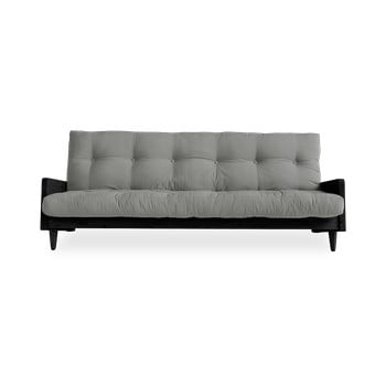Canapea variabilă Karup Design Indie Black/Grey imagine