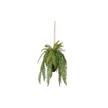 Ferigă artificială suspendabilă WOOOD, înălțime 58 cm poza bonami.ro