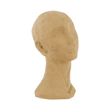 Statuetă decorativă PT LIVING Face Art, înălțime 28,4 cm, maro nisipiu bonami.ro