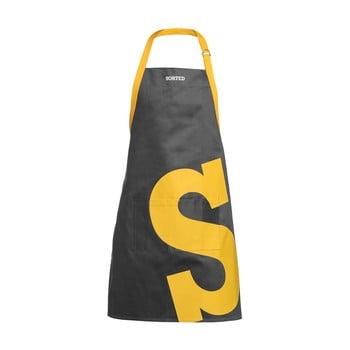 Șorț S Premier Housewares Sorted, gri-galben bonami.ro