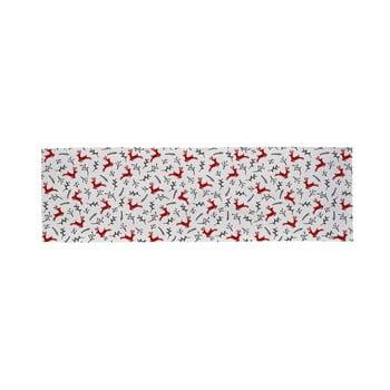 Traversă din bumbac cu motiv de Crăciun Butter Kings They Are Flying, 140 x 40 cm bonami.ro