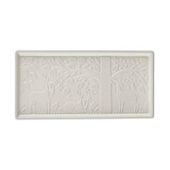 Tavă servire din ceramică Mason Cash In the Forest, 30 x 15 cm, alb bonami.ro