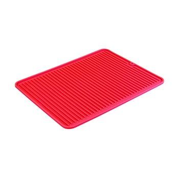 Scurgător veselă iDesign Lineo, 40x32cm, roșu poza bonami.ro