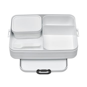 Set caserole pentru prânz Rosti Mepal Nordic Large, alb poza bonami.ro