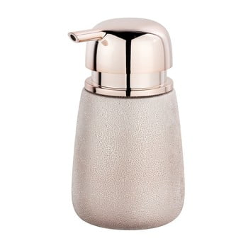 Dozator din ceramică pentru săpun lichid Wenko Glimma, roz bonami.ro