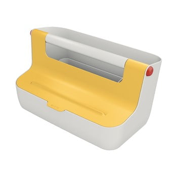 Cutie portabilă cu organizator Leitz Cosy, galben bonami.ro