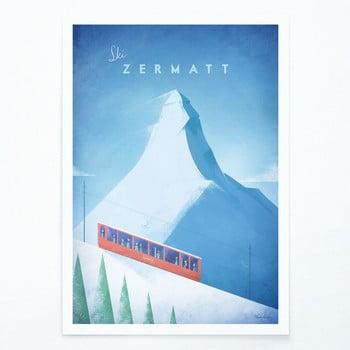Poster Travelposter Zermatt, A3 bonami.ro