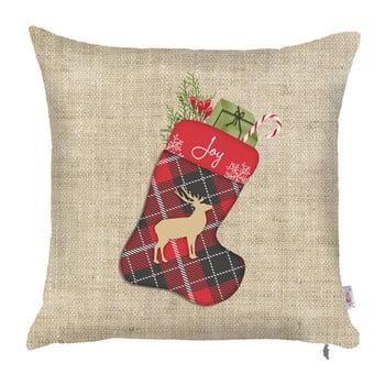 Față de pernă de Crăciun Mike&Co.NEWYORK Honey Festive, 43 x 43 cm bonami.ro