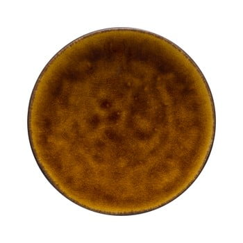 Farfurie din gresie ceramică Costa Nova Roda, ⌀ 16 cm, maro bonami.ro