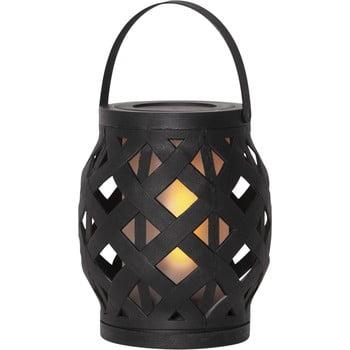 Felinar Best Season Flame Lantern, 14 x 16 cm, negru bonami.ro