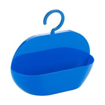 Coș pentru duș Wenko Cocktail Blue, albastru bonami.ro