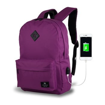 Rucsac cu port USB My Valice SPECTA Smart Bag, mov bonami.ro