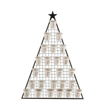 Calendar pentru Crăciun J-Line Tree bonami.ro