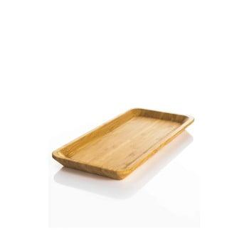 Tavă mică din bambus Bambum Espresso bonami.ro
