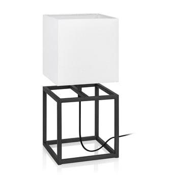 Veioză Markslöjd Cube, 20 x 20 cm, negru - alb bonami.ro