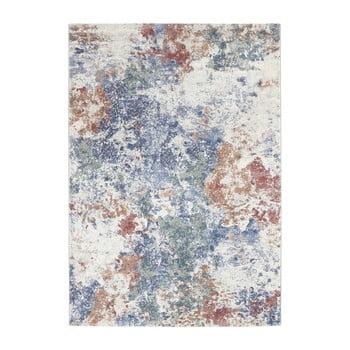Covor Elle Decor Arty Fontaine, 120 x 170 cm, verde - albastru deschis imagine