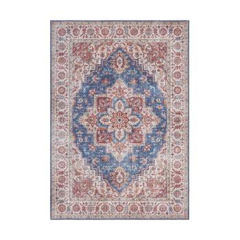 Covor Nouristan Anthea, 160 x 230 cm, albastru - roșu imagine