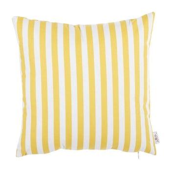 Față de pernă din bumbac Mike&Co.NEWYORK Tureno, 35 x 35 cm, galben poza bonami.ro