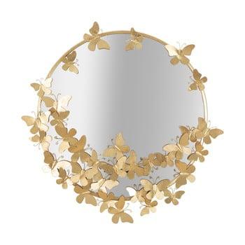 Oglindă de perete Mauro Ferretti Butterfly,ø75cm imagine
