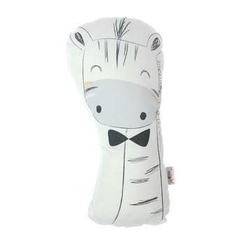 Pernă din amestec de bumbac pentru copii Mike&Co.NEWYORK Pillow Toy Argo Giraffe, 17 x 34 cm poza bonami.ro