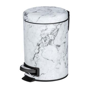 Coș de gunoi cu pedală Wenko Onyx, 3 l poza bonami.ro