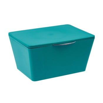 Cutie pentru baie Wenko Brasil, albastru petrol bonami.ro